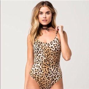 Leopard women's bodysuit